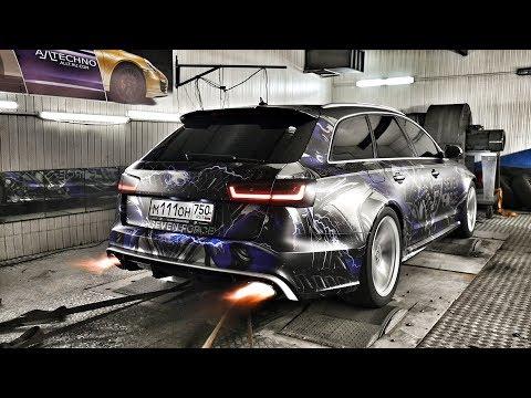 955 сил - корч или авто на каждый день? Audi RS6 Stage 3
