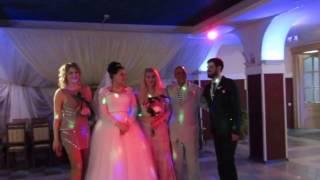 Свадьба Дины и Володара. Букет и подвязка