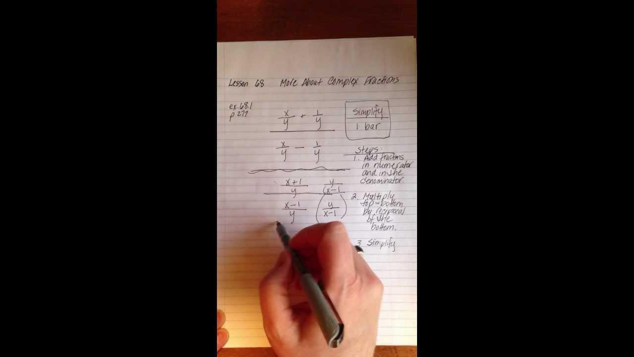 Saxon algebra 1 lesson 68 youtube fandeluxe Choice Image