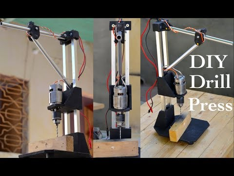 How to make a Portable Drill Press