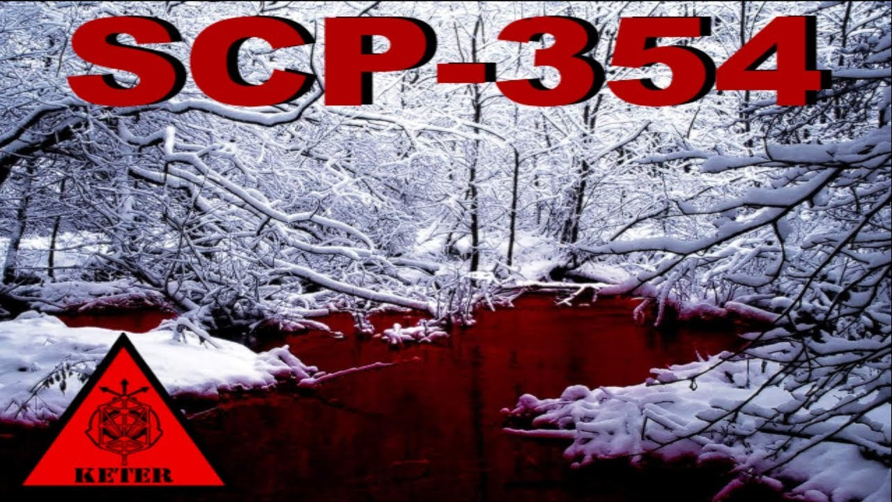 Scp 354 Blood Pond Scp Files Dr Cool Class Keter Youtube