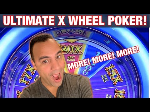 *** BONUS VIDEO *** ULTIMATE X WHEEL VIDEO POKER!!! 🙌🙌 | $13.75 Bets!! |👑  ♦️ ♠️ ♥️