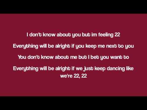 Taylor Swift Song With Lyrics