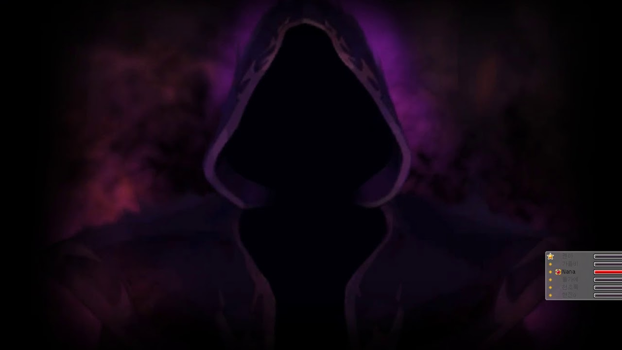 [메이플 화잇] 화잇 X Nana 검은마법사 대리컨