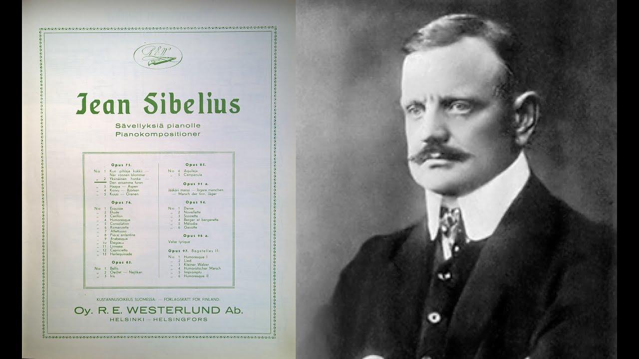 Sibelius - Five Piano Pieces Op.75 - YouTube