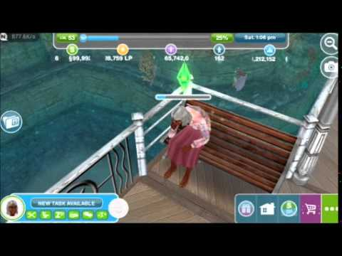 Old Age Death   The Sims FreePLAY™