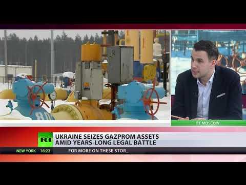 Ukraine Begins Seizure Of Russian Energy Giant Gazprom's Assets