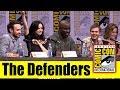 Marvel's THE DEFENDERS | Comic Con 2017 Full Panel (Krysten Ritter, Sigourney Weaver, Charlie Cox)