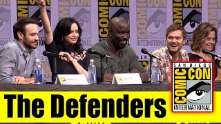Marvel's THE DEFENDERS | Comic Con 2017 Full Panel (Krysten Ritter, Sigourney Weaver, Charlie Cox)