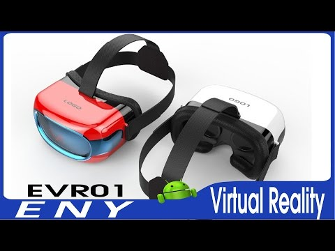 ENY EVR01 All In One VR Virtual Reality Headset Features UNBOXING