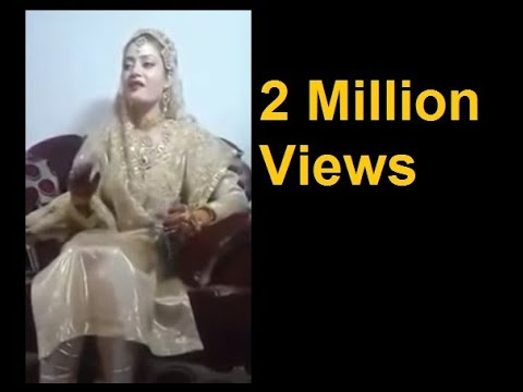 Shazia Sings on Her Wedding | Kashmiri songs | Kashmiri Wedding Song | Kashmiri Gaywun