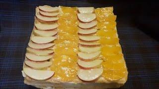 Торт ТРОПИКАНКА Рецепт ОЧЕНЬ вкусного торта ТОРТ на ЗАВАРНОМ тесте Торт рецепт Cake recipe