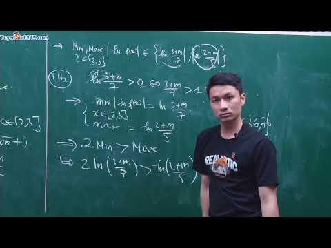 Livetream 22: Đề thi thử số 1 - Môn Toán 12 - Thầy Đỗ Xuân Thắng