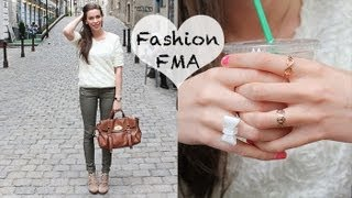 FASHION - Follow Me Around #3: OUTFIT of the Day (OOTD - Mini FMA)