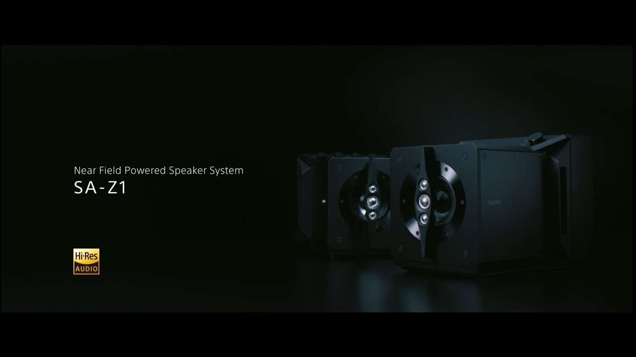 Sony Signature Series | Near Field Powered Speaker System SA-Z1 | Official Product Video