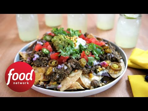 Tomatillo Beef Nachos | Food Network