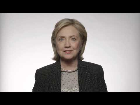 Madam Secretary Hillary Clinton Thanks Senator Tom Harkin