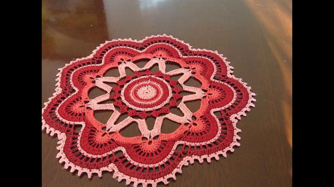 Tapete tejidos en crochet ganchillo youtube for Tapetes de crochet