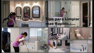 Rapidito de limpieza: Como limpiar un baño paso a paso!!!