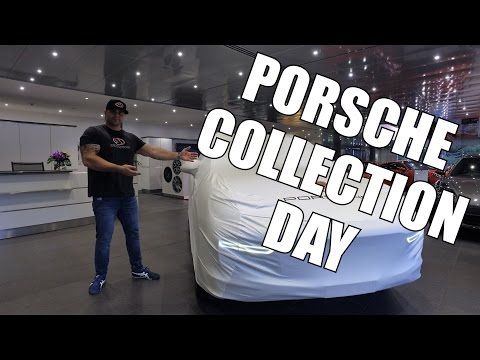 COLLECTION DAY - New 2017 Porsche Cayenne GTS