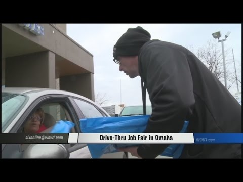 Drive-Thru Job Fair In Omaha