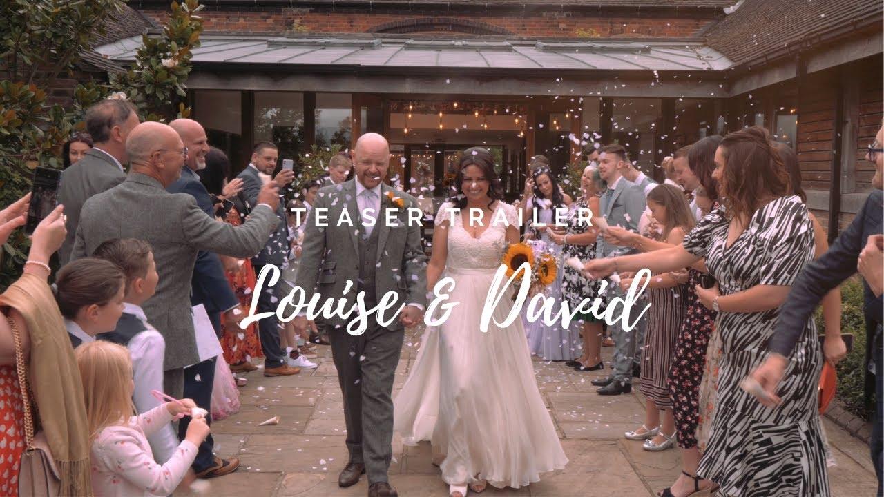 A Classic British Wedding Film Trailer   Louise & David's Wedding Teaser Trailer