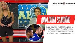 #Boca sancionará a Carlos #Izquierdoz y Frank #Fabra luego de su polémico cruce en La Bombonera