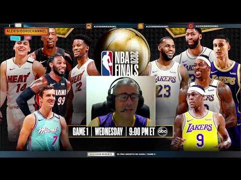Abre o Jogo para o para o 1º jogo da NBA Finals 2020 - Los Angeles Lakers X Miami Heat