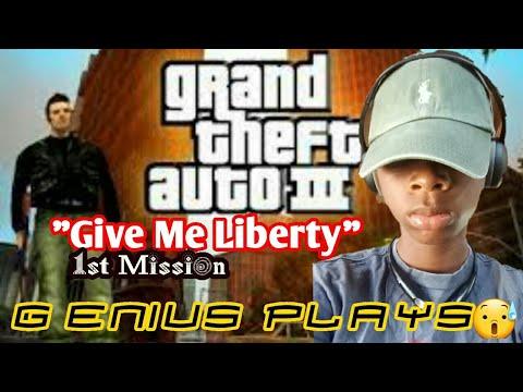 "GENIUS PLAYS GTA 3 ""GIVE ME LIBERTY"" PART 1"
