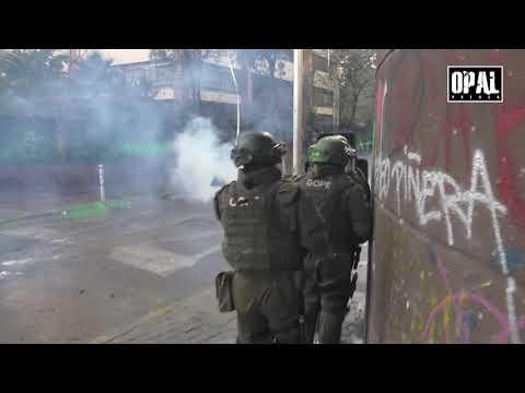 Represión criminal en #Chile