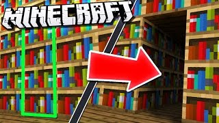 MORE Easy & Hidden ROOMS in Minecraft!