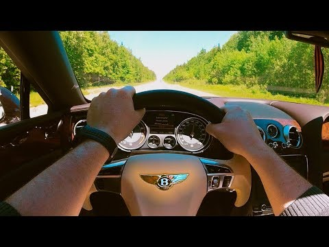 2015 Bentley Flying Spur W12 630HP POV Test Drive