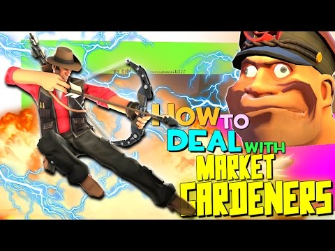 TF2: How to deal with market gardeners [FUN]