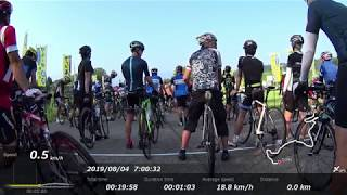 TOUR de Mt.NAEBA 100km Cycling Digest 2019.8.4 [ツール・ド・苗場山ダイジェスト]