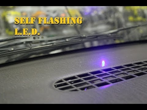 Self flashing led dummy alarm security system youtube aloadofball Images