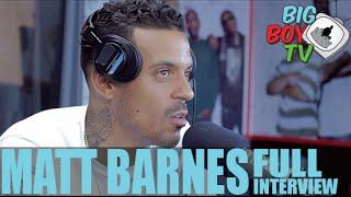 Matt Barnes Speaks On Relationships, Floyd Mayweather, And More! (Full Interview) | BigBoyTV