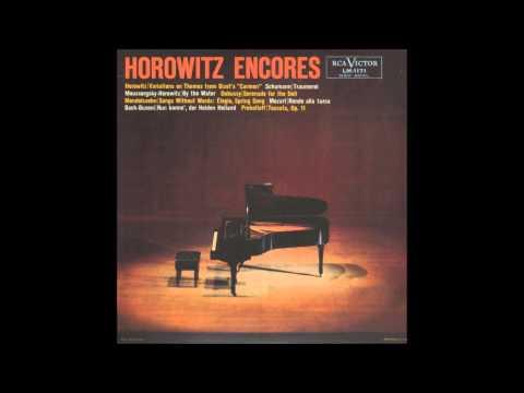 vladimir horowitz song without word op 85 no 4 felix mendelssohn