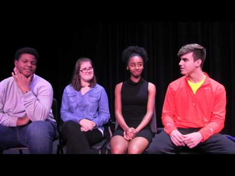 Behind the Curtain with the Cast of Ranchview High School's Annie Jr.