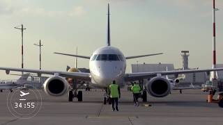Flugzeugabfertigung/ Aircraft turn around