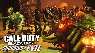 Black Ops 3 Zombies, Shadows of Evil - WONDER WEAPON & PACK-A-PUNCH!! (BO3 Zombies Gameplay)