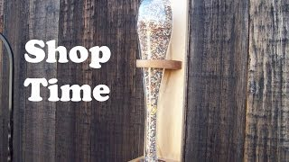 How To Make A Glass Bottle Bird Feeder