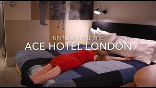 Unrooming the Ace Hotel London with Hotels.com (Unboxing)