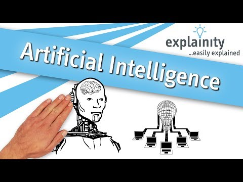 Artificial Intelligence easily explained (explainity® explainer video)