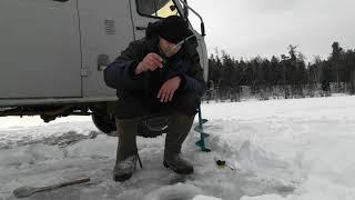 Зимняя рыбалка на Озере Нож Бурятия Гора рыбы
