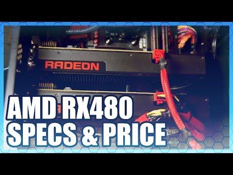 AMD RX480 Specs: $200, 5TFLOPs, 8GB GDDR5 | Computex