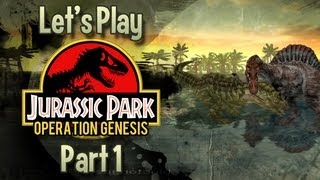 Jurassic Park : Operation Genesis | #1 | Welcome To Jurassic Park.