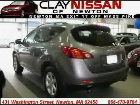 Clay Nissan Newton >> Used Nissan Murano 2009 Located In At Clay Nissan Newton