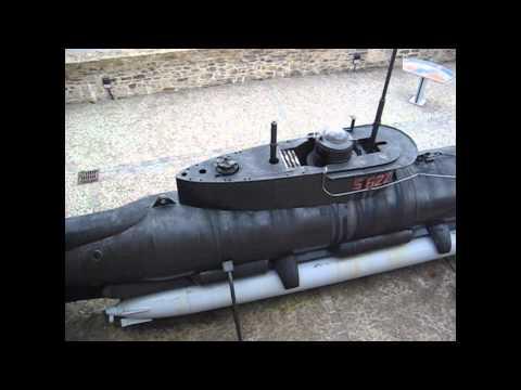 U-boat Seehund minisub WW2