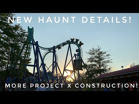 Repeat New HAUNT Information and Project X construction gets