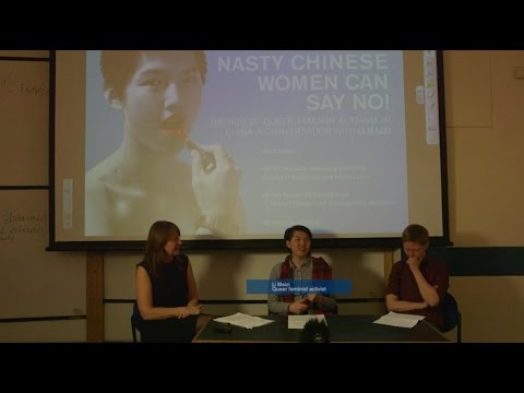 The Rise of Queer, Feminist Activism in China - a conversation with Li Maizi